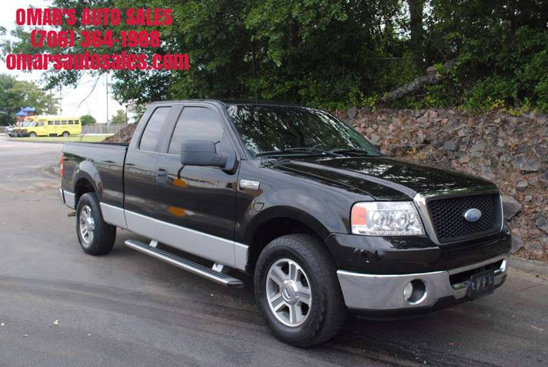 2007 FORD F-150 XL 4DR SUPERCAB STYLESIDE 65 FT black front bumper color - silver pickup bed li