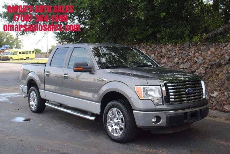 2011 FORD F-150 XLT 4X2 4DR SUPERCREW STYLESIDE gray no accidents 1 owner blue tooth microso