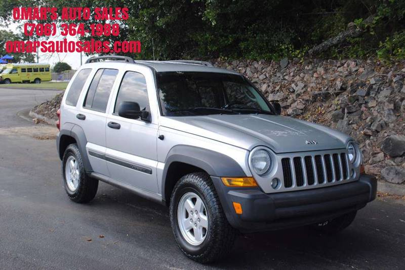 2007 JEEP LIBERTY SPORT 4DR SUV silver new tires power windows  locks after-market cd player