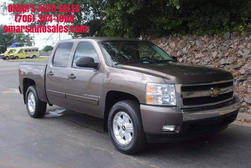 2008 CHEVROLET SILVERADO 1500 LT2 4WD 4DR CREW CAB 58 FT SB brown 4x4   no accidents blue to