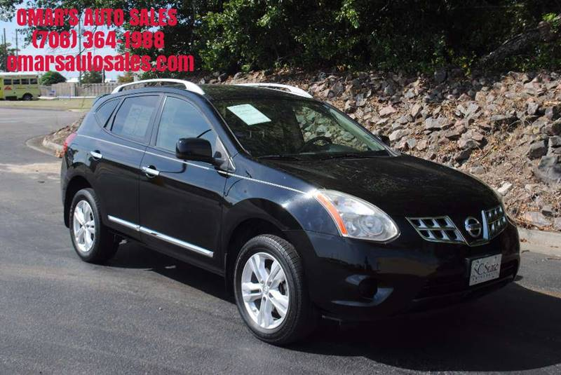 2012 NISSAN ROGUE SV 4DR CROSSOVER black only 1 owner no accidents blue tooth back-up camera