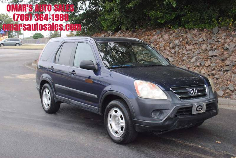 2006 HONDA CR-V LX 4DR SUV blue great gas saver and vehicle for a beginner driver grille color -