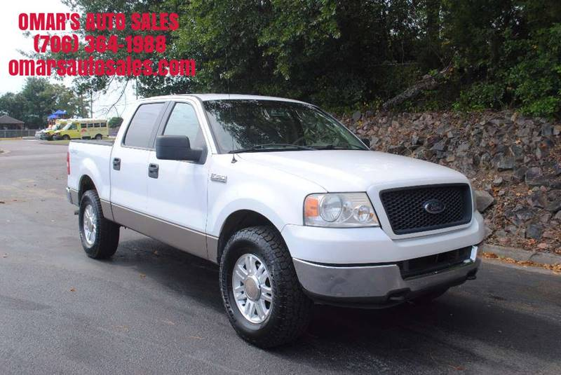 2005 FORD F-150 XLT 4DR SUPERCREW 4WD STYLESIDE white 4x4   no accidents new tires clean pow