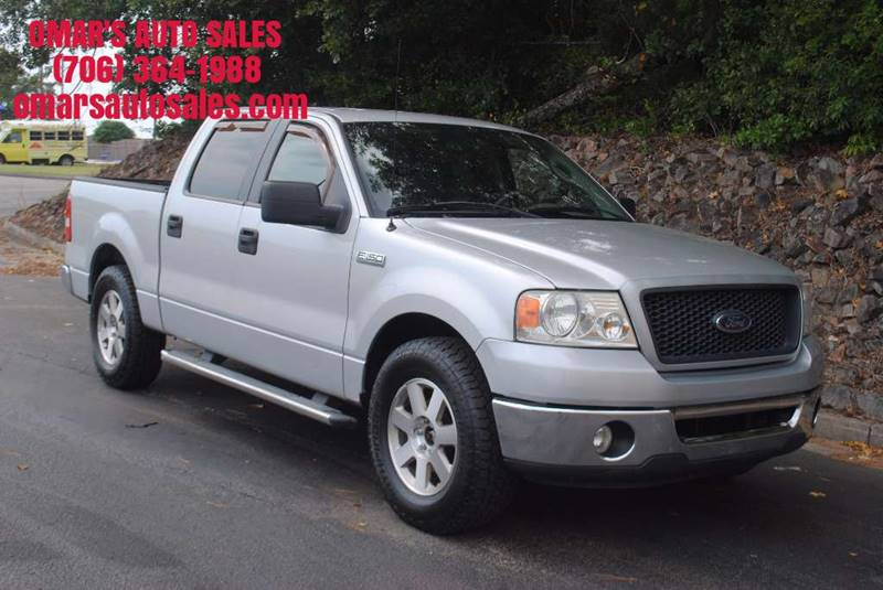 2006 FORD F-150 XLT 4DR SUPERCREW STYLESIDE 55 silver new tires movable pedal power sliding ba