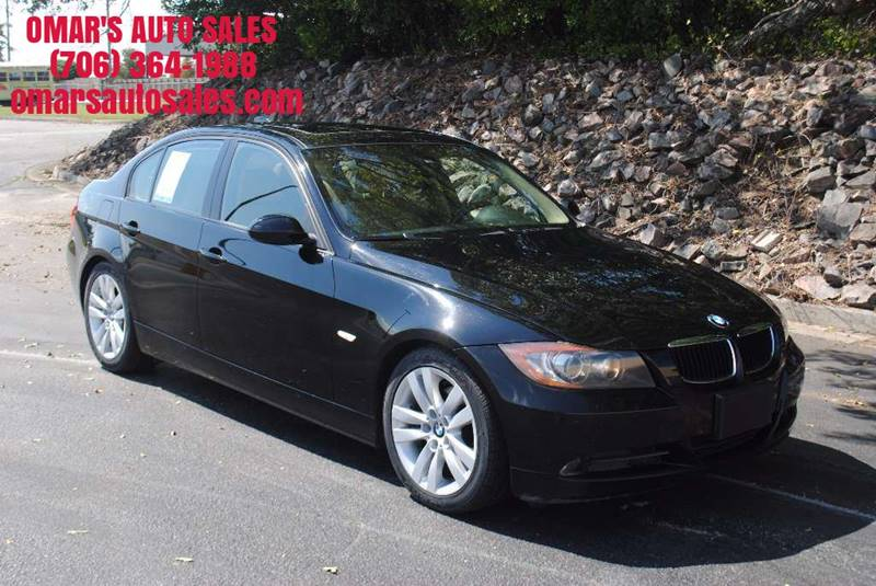 2006 BMW 3 SERIES 325I 4DR SEDAN black heated seats sunroof blue tooth dual climate control a