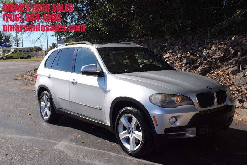 2008 BMW X5 30SI AWD 4DR SUV silver door handle color - body-color front bumper color - body-co