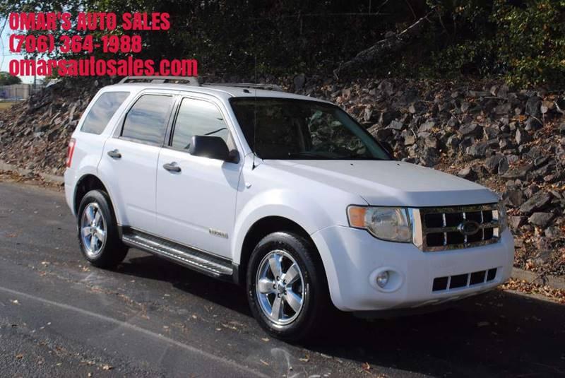 2008 FORD ESCAPE XLT 4DR SUV V6 white grille color - chrome center console trim - alloy floor m