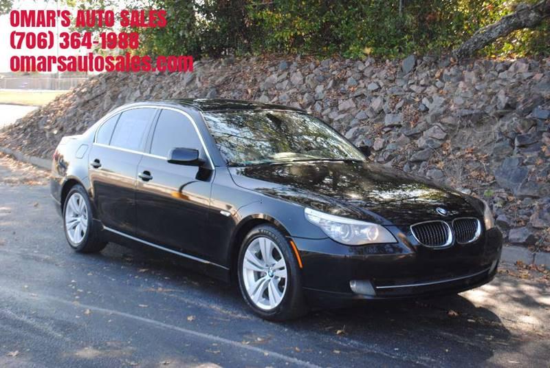 2010 BMW 5 SERIES 528I 4DR SEDAN black exhaust - dual tip door handle color - body-color exhaus