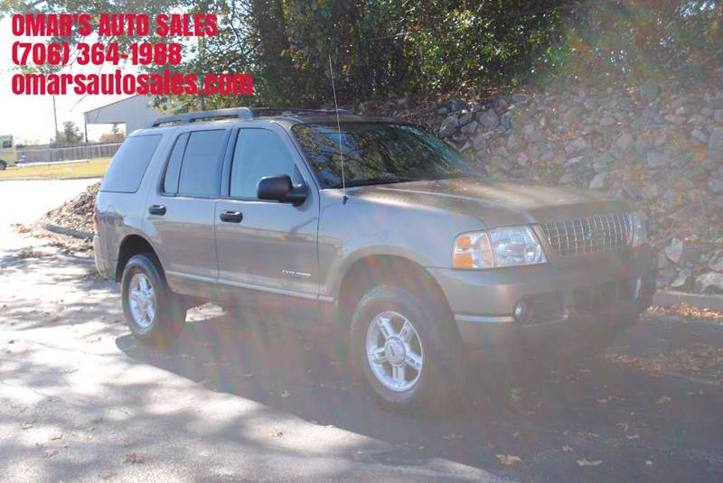 2005 FORD EXPLORER XLT 4DR 4WD SUV tan front air conditioning front air conditioning zones - sin