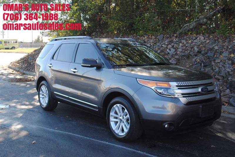 2011 FORD EXPLORER XLT 4DR SUV gray exhaust - dual tip front bumper color - two-tone rear bumpe