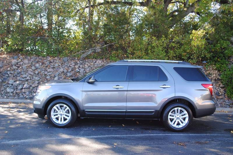 2011 FORD EXPLORER XLT 4DR SUV gray bluetooth leather seats xlt package tow package alloy whe