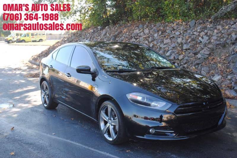 2013 DODGE DART RALLYE 4DR SEDAN black exhaust - dual tip headlight bezel color - black door ha