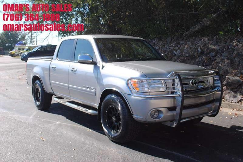 2006 TOYOTA TUNDRA SR5 4DR DOUBLE CAB 4WD SB 47L silver pickup bed light pickup bed type - fle