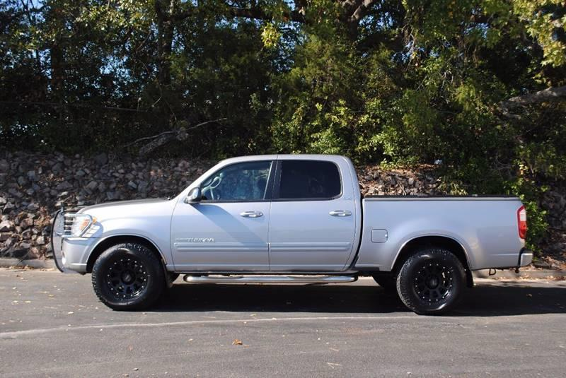 2006 TOYOTA TUNDRA SR5 4DR DOUBLE CAB 4WD SB 47L silver bluetooth sr5 package off road packag