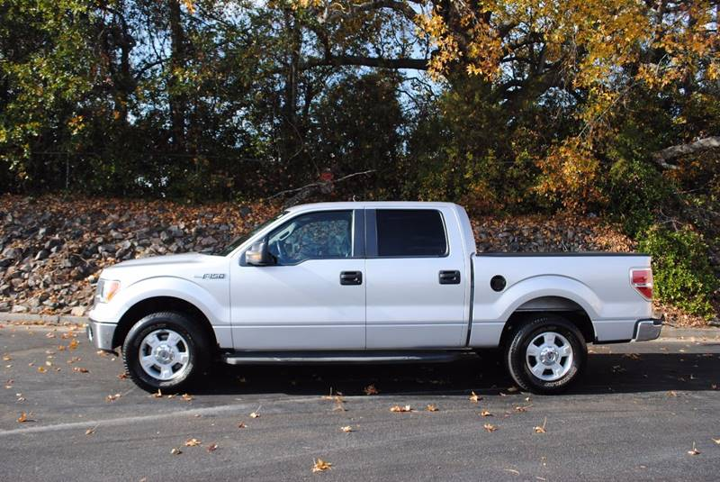 2012 FORD F-150 XLT 4X2 4DR SUPERCREW STYLESIDE silver pickup bed light pickup bed type - styles