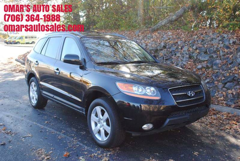 2009 HYUNDAI SANTA FE LIMITED 4DR SUV black body side moldings - accent grille color - accent d