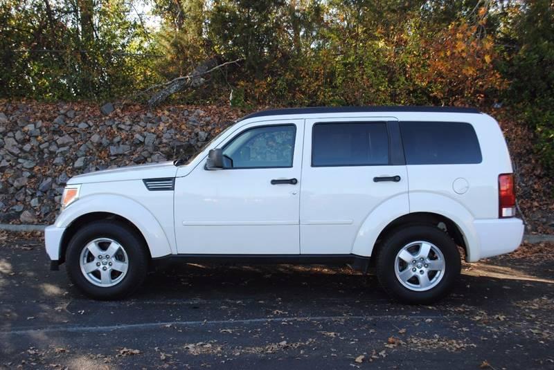 2007 DODGE NITRO SXT 4DR SUV white front air conditioning front air conditioning zones - single