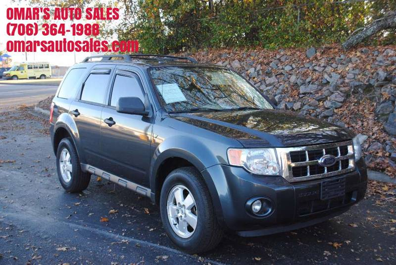 2008 FORD ESCAPE XLT 4DR SUV V6 charcoal grille color - chrome center console trim - alloy floo