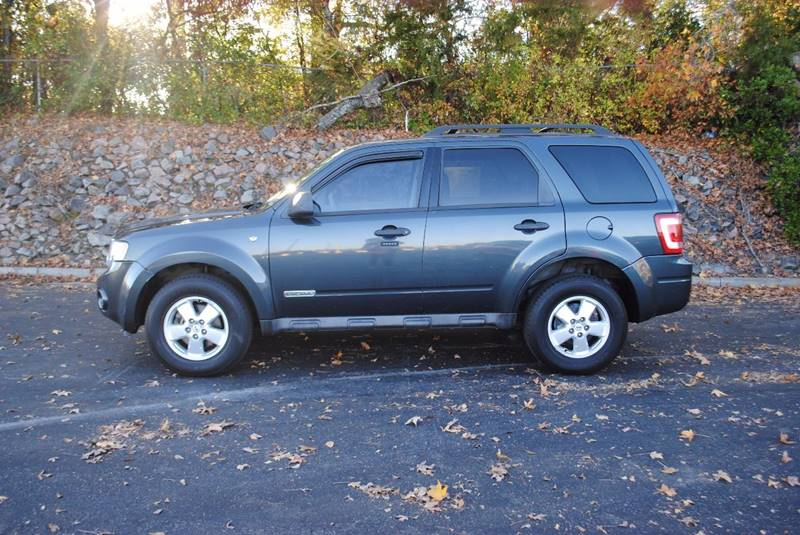 2008 FORD ESCAPE XLT 4DR SUV V6 charcoal no accidents sunroof satellite radio and more  gri