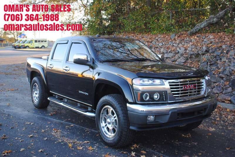 2005 GMC CANYON Z85 SLE BASE 4DR CREW CAB RWD SB black front bumper color - chrome rear bumper c