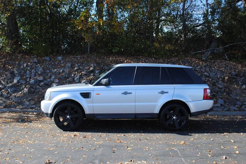 2008 LAND ROVER RANGE ROVER SPORT HSE 4X4 4DR SUV silver rear spoiler air filtration - active cha