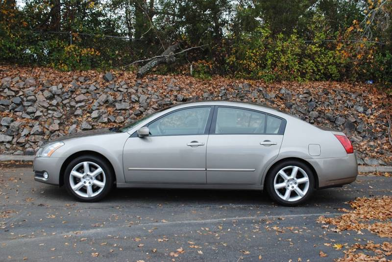 2006 NISSAN MAXIMA 35 SE 4DR SEDAN WAUTOMATIC gold 1 owner no accidents  clean carfax dual