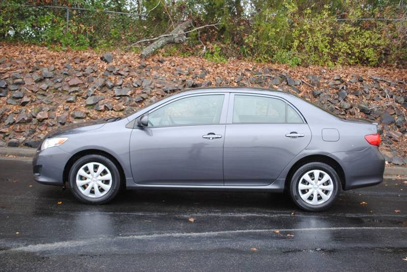 2009 TOYOTA COROLLA BASE 4DR SEDAN 4A gray door handle color - body-color grille color - black