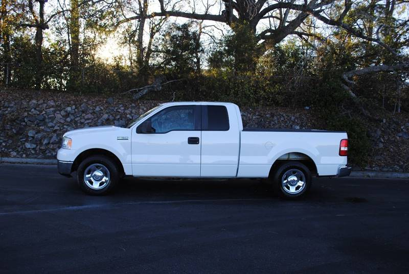 2008 FORD F-150 XLT 4X2 4DR SUPERCAB STYLESIDE 5 white pickup bed light pickup bed type - styles