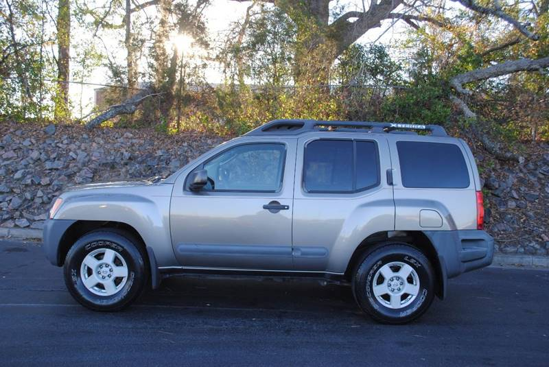 2005 NISSAN XTERRA OFF ROAD 4WD 4DR SUV gray 4wd skid plates front air conditioning front air