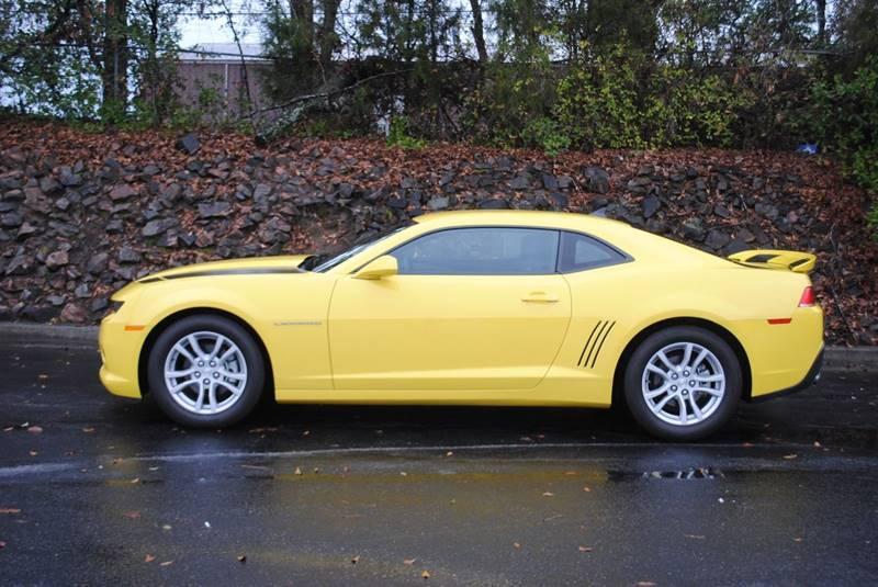 2015 CHEVROLET CAMARO LS 2DR COUPE W2LS yellow exhaust - dual tip door handle color - body-colo