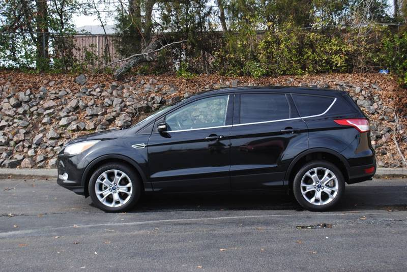 2013 FORD ESCAPE SEL 4DR SUV black exhaust - dual tip rear spoiler - roofline door handle color