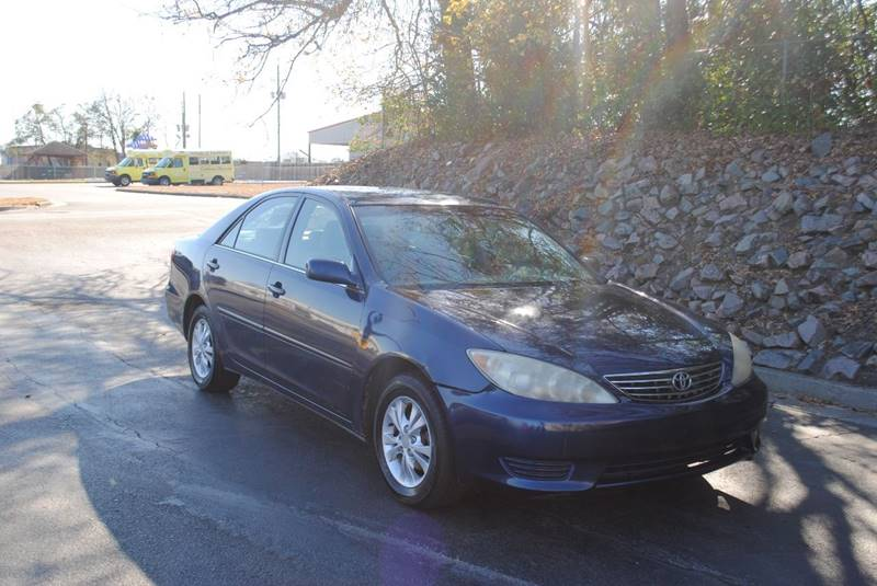 2006 TOYOTA CAMRY LE V6 4DR SEDAN blue armrests - rear folding front air conditioning cargo are