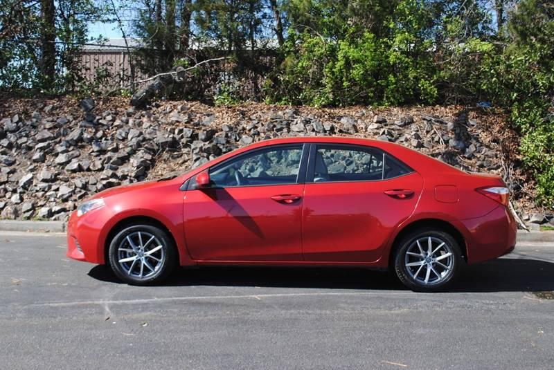 2014 TOYOTA COROLLA L 4DR SEDAN 4A red door handle color - body-color front bumper color - body-