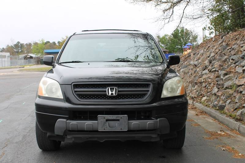 2004 HONDA PILOT EX L 4DR 4WD SUV WLEATHER charcoal 3 rows clean plenty of room come see toda