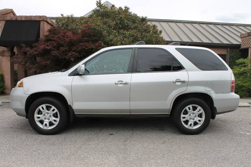 2004 ACURA MDX TOURING WNAVI WRES AWD 4DR SUV silver one owner  clean car fax  4wd  fully loade