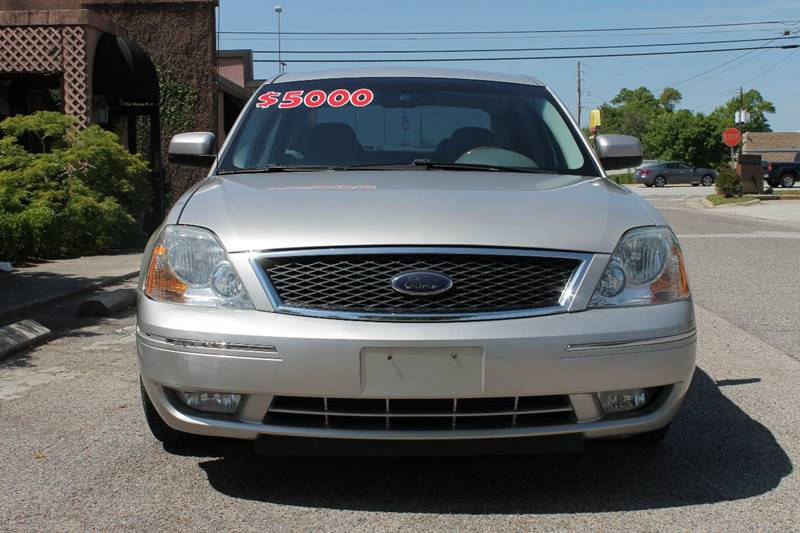 2006 FORD FIVE HUNDRED SEL 4DR SEDAN silver 2006 ford 500 very clean low millage big screen radio