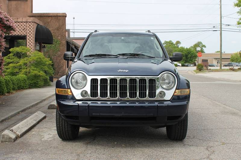 2006 JEEP LIBERTY LIMITED 4DR SUV blue 2006 jeep liberty leatherroofpower windowsautomatic tra