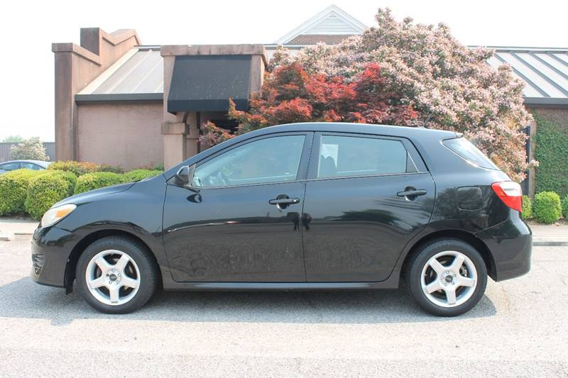 2009 TOYOTA MATRIX BASE 4DR WAGON 5M black 2009 toyota matrix very cleangreat gas millage wheel