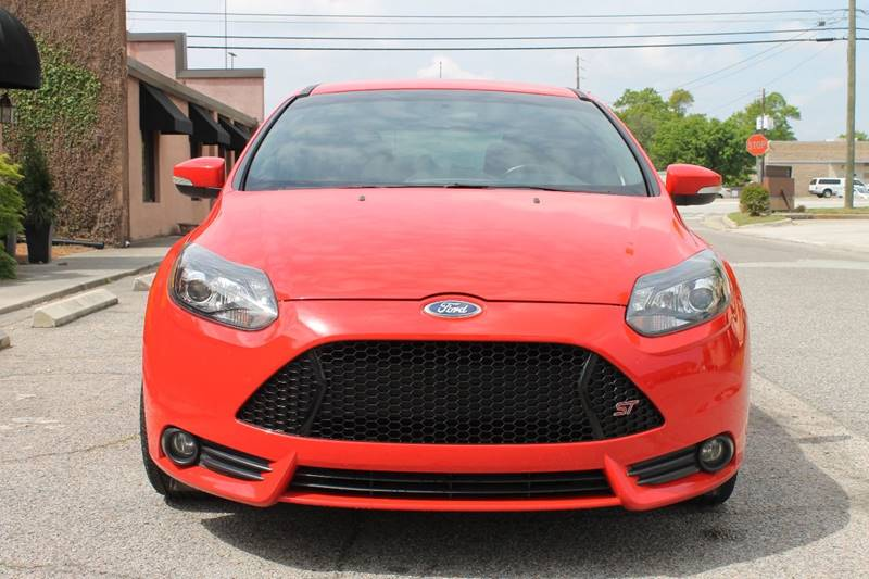 2014 FORD FOCUS ST 4DR HATCHBACK red 2014 ford focus st turbocharge very nice  navbackup camera