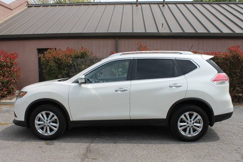 2016 NISSAN ROGUE SV 4DR CROSSOVER white very nice 2016 nissan rogue cross over very cleanlady d