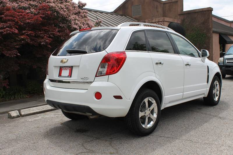 2013 CHEVROLET CAPTIVA SPORT LT 4DR SUV white skid plates - rear door handle color - chrome f