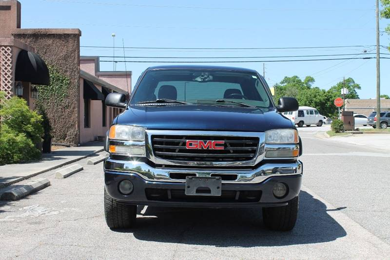 2006 GMC SIERRA 1500 SLT 4DR CREW CAB 4WD 58 FT SB blue pickup bed light pickup bed type - fle