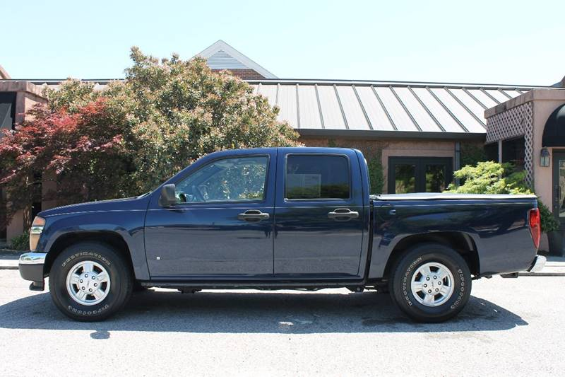 2008 GMC CANYON SLE 4DR CREW CAB SB blue pickup bed light pickup bed liner pickup bed type - fl
