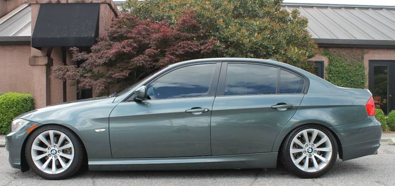 2011 BMW 3 SERIES 328I 4DR SEDAN green exhaust tip color - stainless-steel front bumper color -