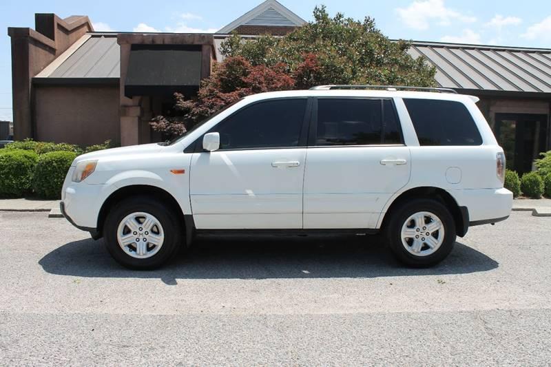 2008 HONDA PILOT VP 4DR SUV white rear spoiler - roofline body side moldings - body-color door