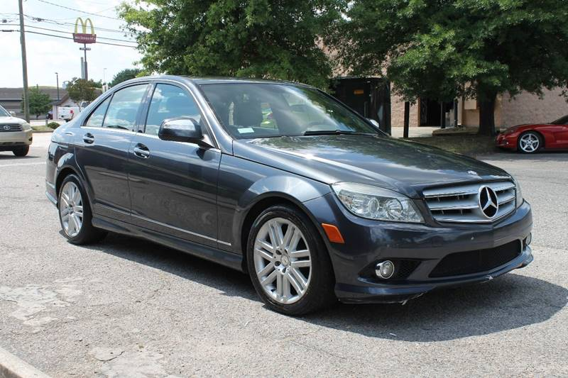 2008 MERCEDES-BENZ C-CLASS C 300 SPORT 4MATIC AWD 4DR SEDAN gray exhaust - dual tip exhaust tip