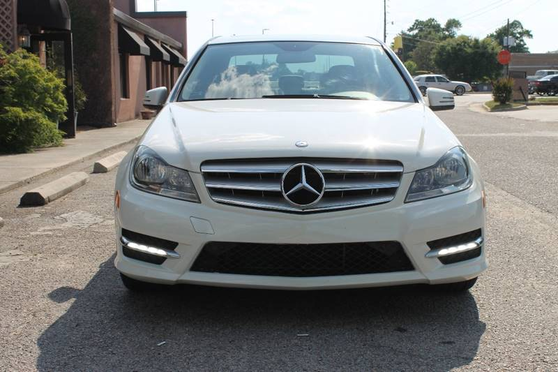 2012 MERCEDES-BENZ C-CLASS C 300 SPORT 4MATIC AWD 4DR SEDAN white exhaust - dual tip exhaust tip