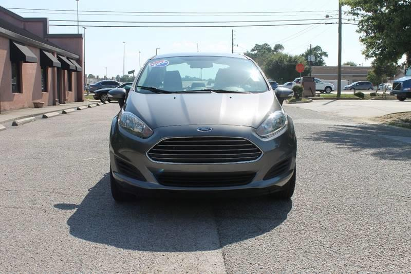 2014 FORD FIESTA SE 4DR SEDAN gray very clean low mileage door handle color - body-color front