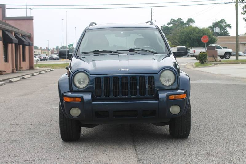 2004 JEEP LIBERTY LIMITED 4DR SUV