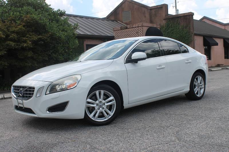 2013 VOLVO S60 T5 4DR SEDAN white navigation back up camera bluetooth phone  exhaust - dual ti